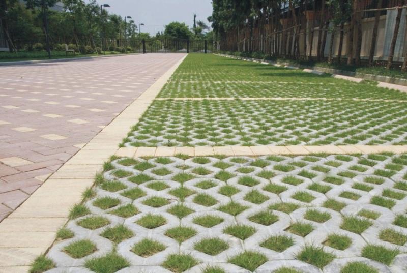 透水砖和植草砖的生产制造规定以及日常保养的方式-路侧石